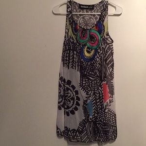 Desigual Peacock Dress